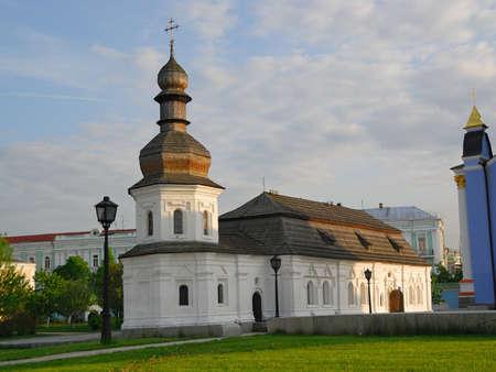 Refectory church of Saint Michael Gilded Orthodox cathedral, Kiev, Ukraine Stock Photo - 13904083