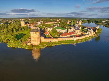 birdeye: Kirillo-Belozerskiy Monastery Bird-Eye view