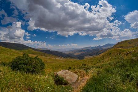 Selim mountain pass of Armenia