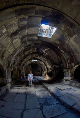 Inside the Gorgeous Selim Caravansaray of Amenia from Inside. Imagens