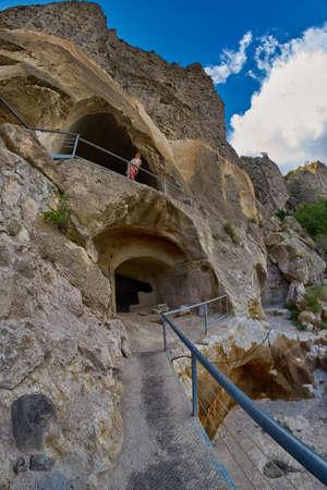 Vardzia - famous cave monastery in Georgia