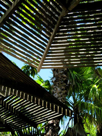 cabana: Tranquil Cabana Stock Photo