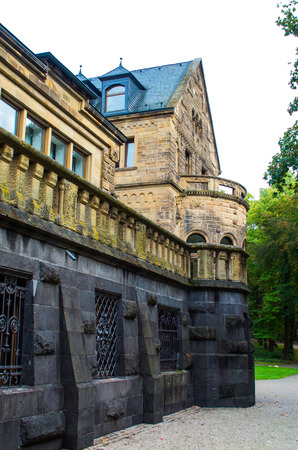 architectural details: elements and architectural details fairytale castle Waldhausen Germany