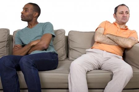 problema: Pareja gay Interracial pasando por problemas de pareja