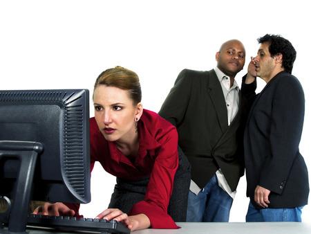 Sexual Harassment at Work Reklamní fotografie - 24249834