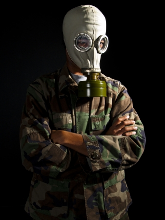 Nuclear Soldier Stock Photo - 24249971