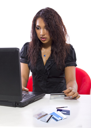 paying: online debt relief or paying online with credti cards