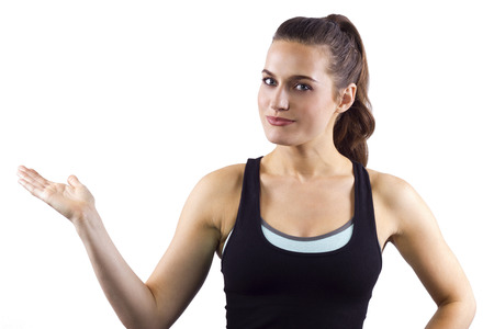 endorse: young female fitness trainer