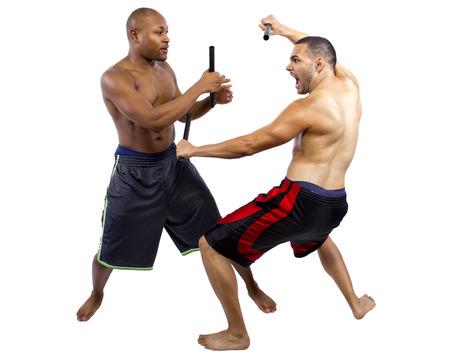AFICIONADOS: el aprendizaje del estudiante aficionado kali escrima artes marciales de instructor