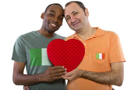 Interracial gay love