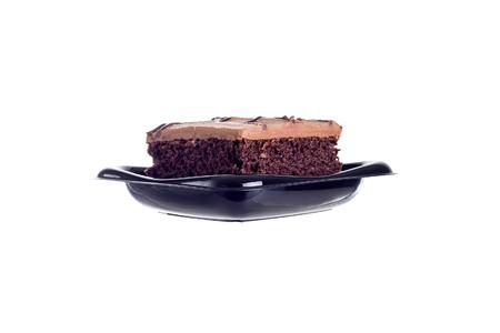 red velvet: Red velvet chocolate cake isolated in white background