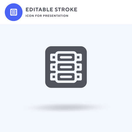 Ribs icon vector, filled flat sign, solid pictogram isolated on white, logo illustration. Ribs icon for presentation.