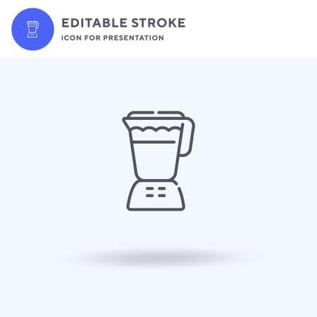 Shake icon vector, filled flat sign, solid pictogram isolated on white, logo illustration. Shake icon for presentation.