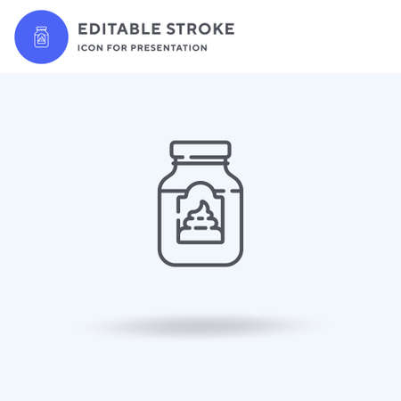 Mayonnaise icon vector, filled flat sign, solid pictogram isolated on white, logo illustration. Mayonnaise icon for presentation. Illustration