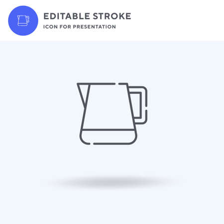Pitcher icon vector, filled flat sign, solid pictogram isolated on white, logo illustration. Pitcher icon for presentation.