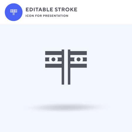 India icon vector, filled flat sign, solid pictogram isolated on white, logo illustration. India icon for presentation. Illusztráció