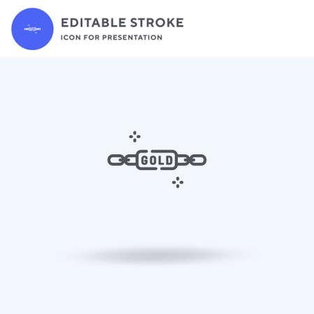 Bracelet icon vector, filled flat sign, solid pictogram isolated on white, logo illustration. Bracelet icon for presentation.
