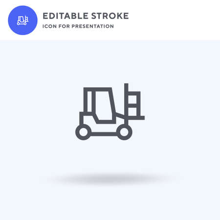 Loader icon, filled flat sign, solid pictogram isolated on white, illustration. Loader icon for presentation.