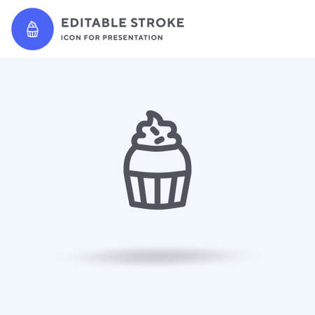 Sweet icon vector, filled flat sign, solid pictogram isolated on white, logo illustration. Sweet icon for presentation.