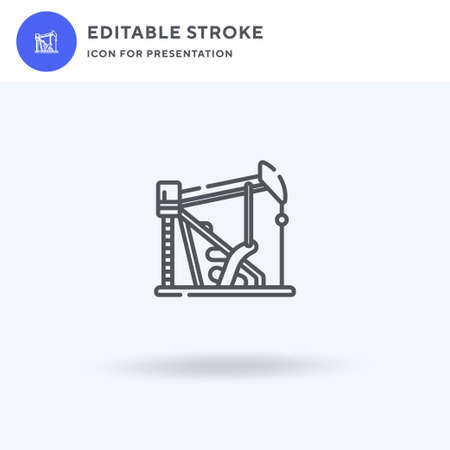 Digger icon vector, filled flat sign, solid pictogram isolated on white,  illustration. Digger icon for presentation.