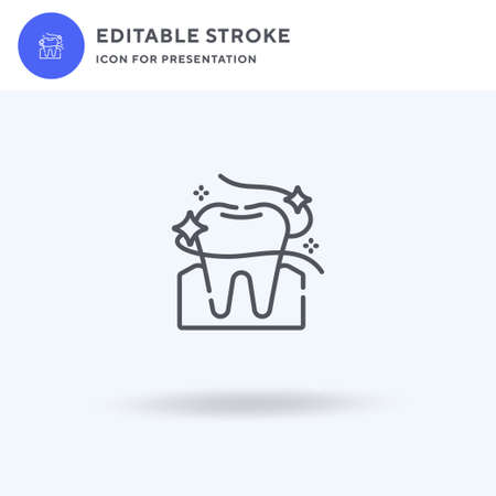 Floss icon vector, filled flat sign, solid pictogram isolated on white,  illustration. Floss icon for presentation.