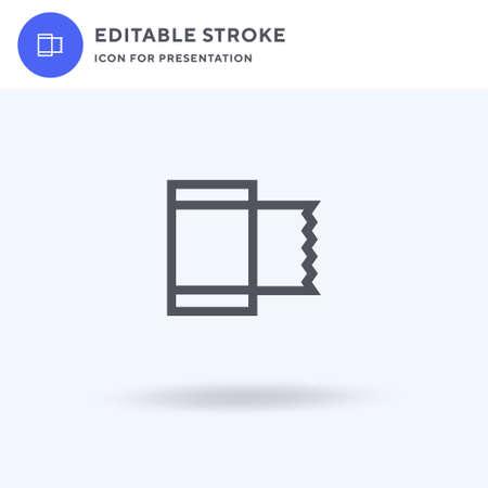 Bandage icon vector, filled flat sign, solid pictogram isolated on white, logo illustration. Bandage icon for presentation. Illusztráció