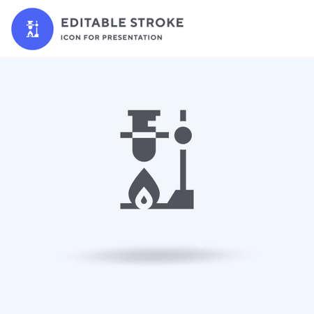 Lab icon vector, filled flat sign, solid pictogram isolated on white, logo illustration. Lab icon for presentation. Ilustração