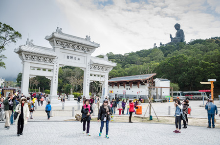 Polin monastery in Ngong Ping