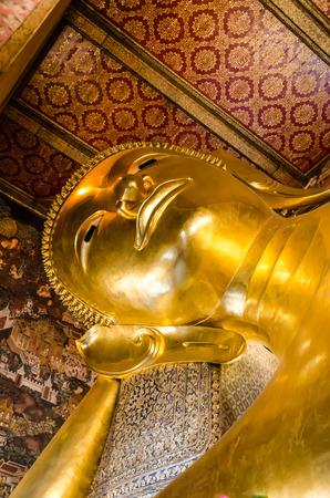 reclining: Reclining Buddha,Bangkok,Thailand
