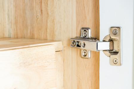 hinge: Stainless Steel Hinge in Cupboard