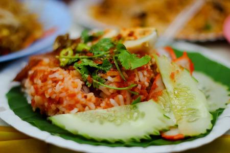 Het is fastfood dat in Thailand te vinden is.