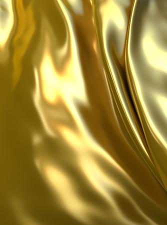 Abstracte luxe gouden achtergrond. Fantasie metallic doek