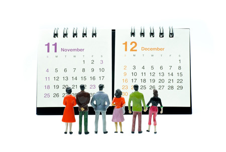 Calendar Stockfoto