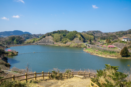 Sakuma dam reservoir
