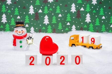 Images to organize blocks for the 2020 New Years preparations