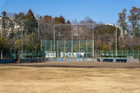 Park baseball field