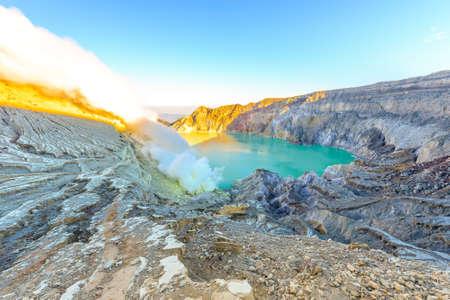 Kawah Ijen Crater, INDONESIA.