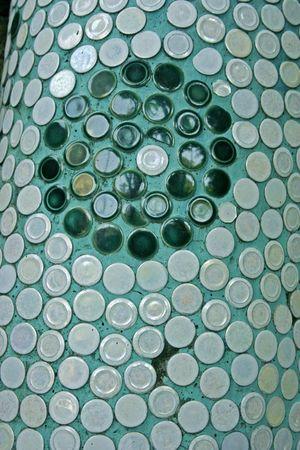 pastiche: Round design mosaic