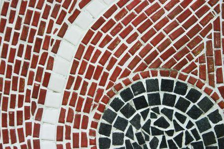 pastiche: Mosaic design Stock Photo