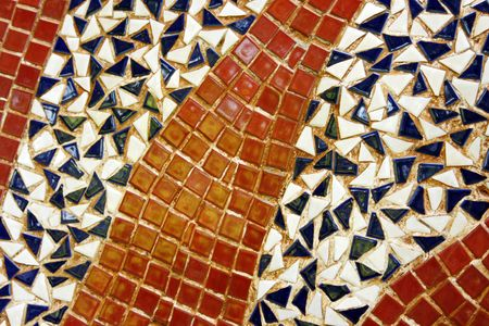 pastiche: Abstract mosaic