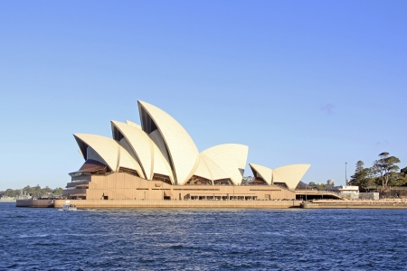 SYDNEY - NOVEMBER 22  The Iconic Sydney Opera House is a multi-venue performing arts centre also containing bars and outdoor restaurants  November 22, 2013 in Sydney, Australia