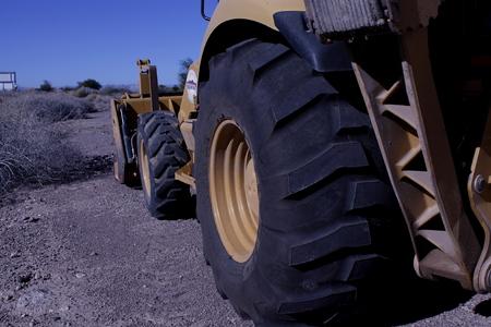 digger: Industrial Digger Stock Photo
