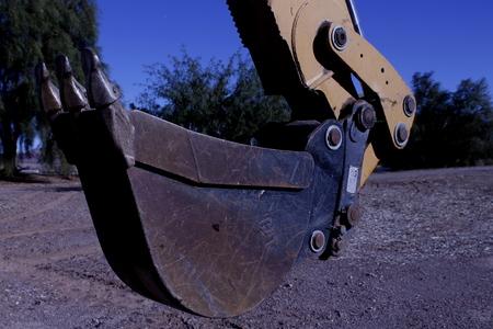 Industriële Digger Stockfoto - 50325458