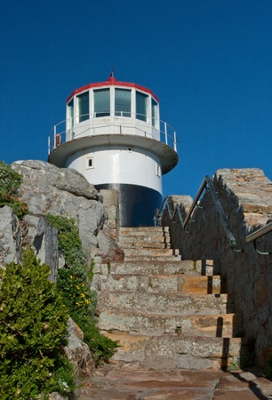 Lighthouse on Cape of Good Hope, Cape Town, South Africa photo