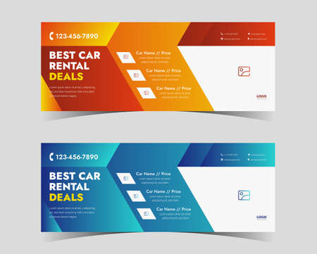 car rental social media cover. car rental cover design for social media. best car rental social media cover