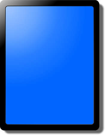 tablette pc: Tablet PC Illustration