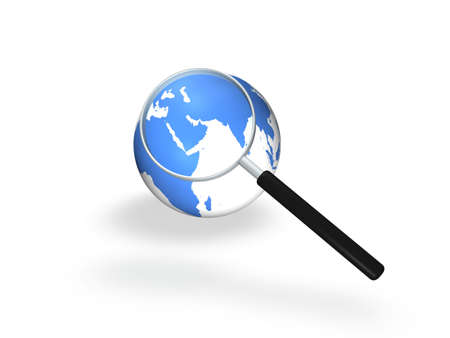 Global Search Stock Photo - 8136858