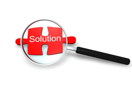 Search Solution Stock Photo - 8136859