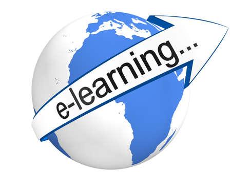 e-learning concept Standard-Bild