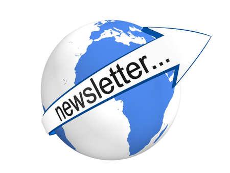 Global Newsletter Concept